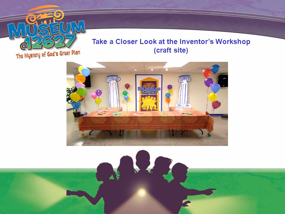 Take a Closer Look at the Inventor's Workshop (craft site)
