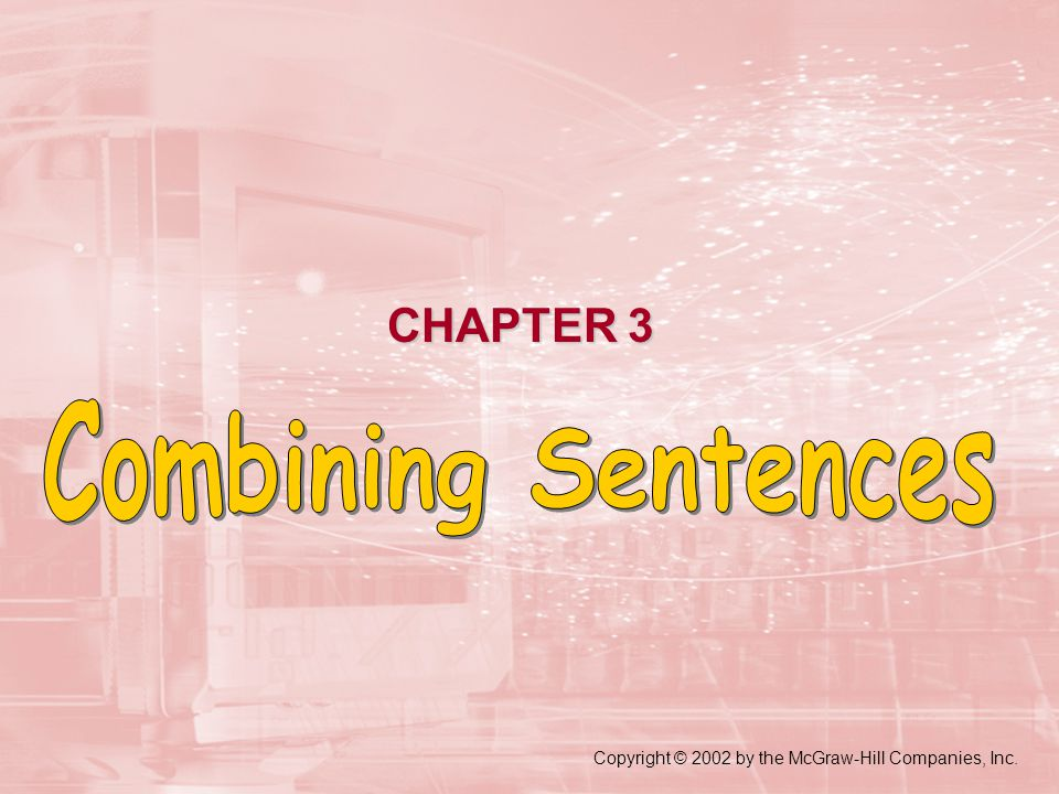 compound sentenceA compound sentence contains two independent clauses joined by a coordinating conjunction.