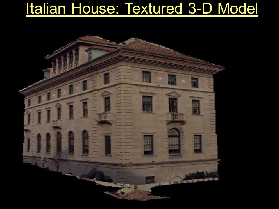 Italian House: Textured 3-D Model