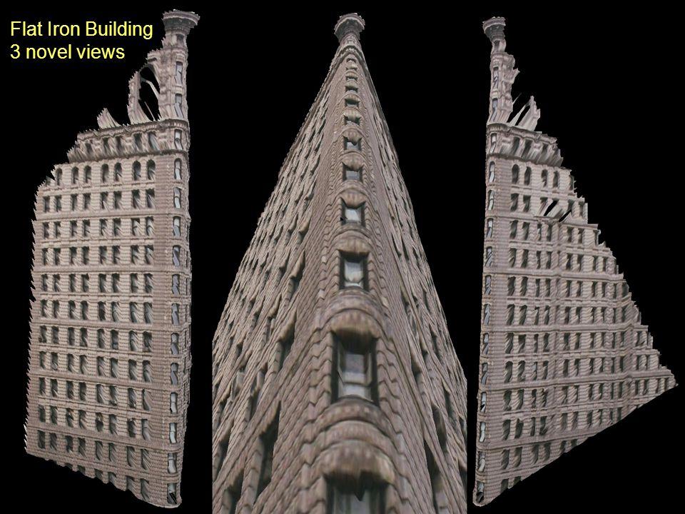 Flat Iron Building 3 novel views