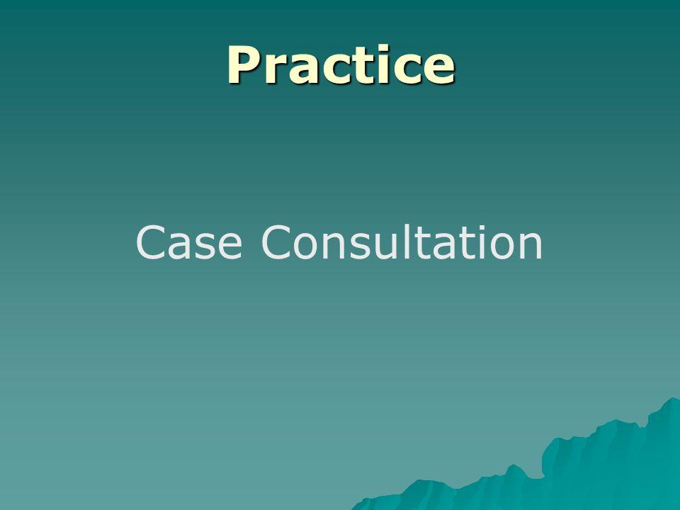 Practice Case Consultation