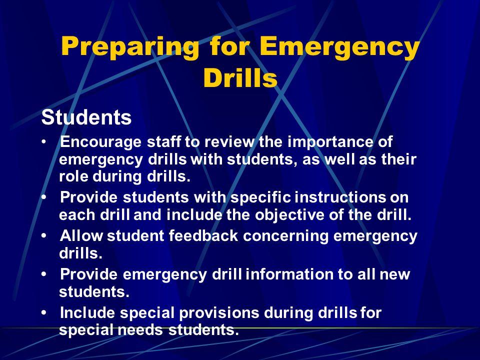 Student Movement: Lockdown Drills vs.