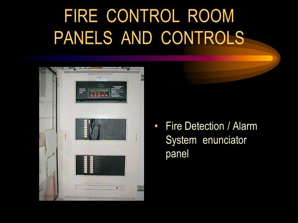 Fire Detection / Alarm System enunciator panel
