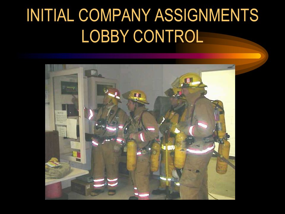 INITIAL COMPANY ASSIGNMENTS LOBBY CONTROL