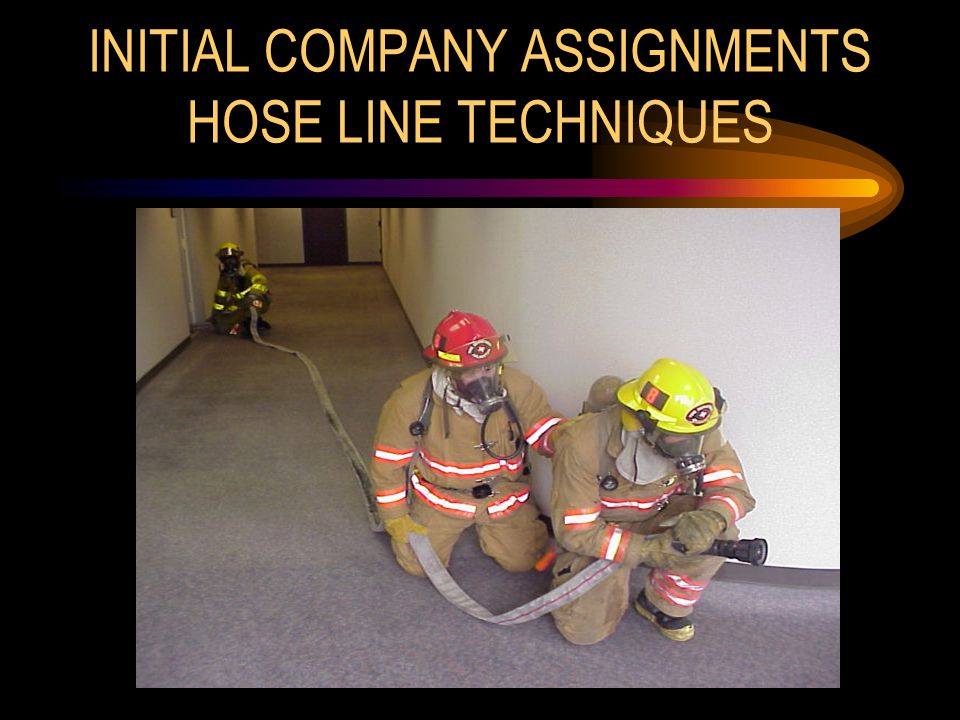 INITIAL COMPANY ASSIGNMENTS HOSE LINE TECHNIQUES