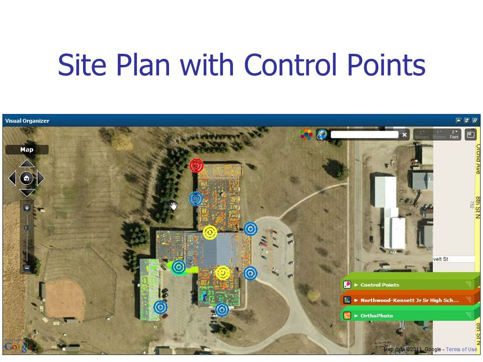 Site Plan with Control Points