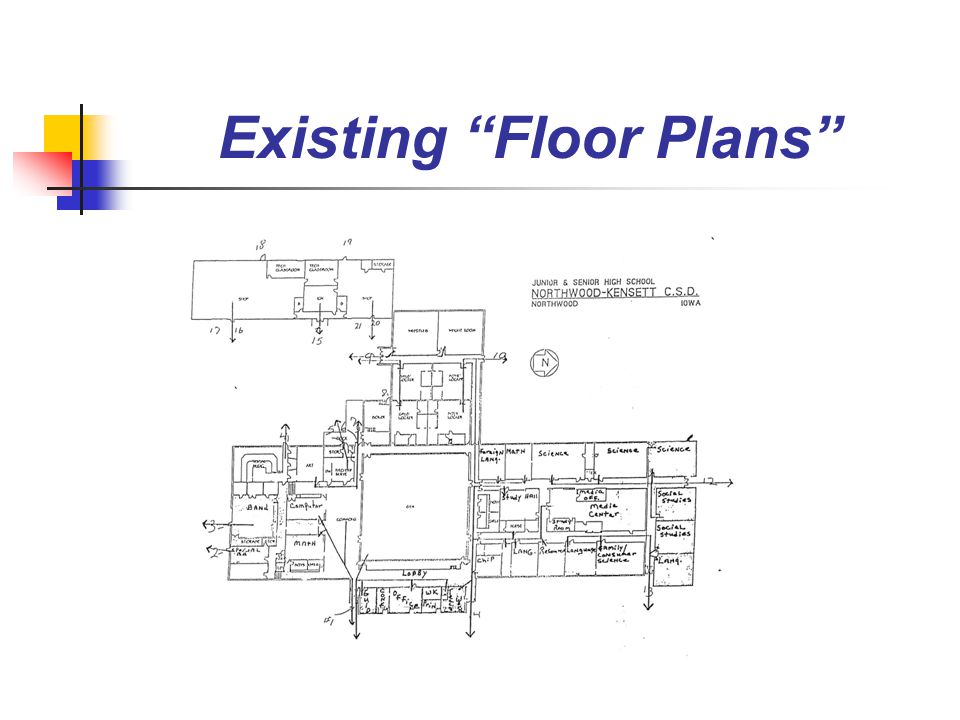 Existing Floor Plans