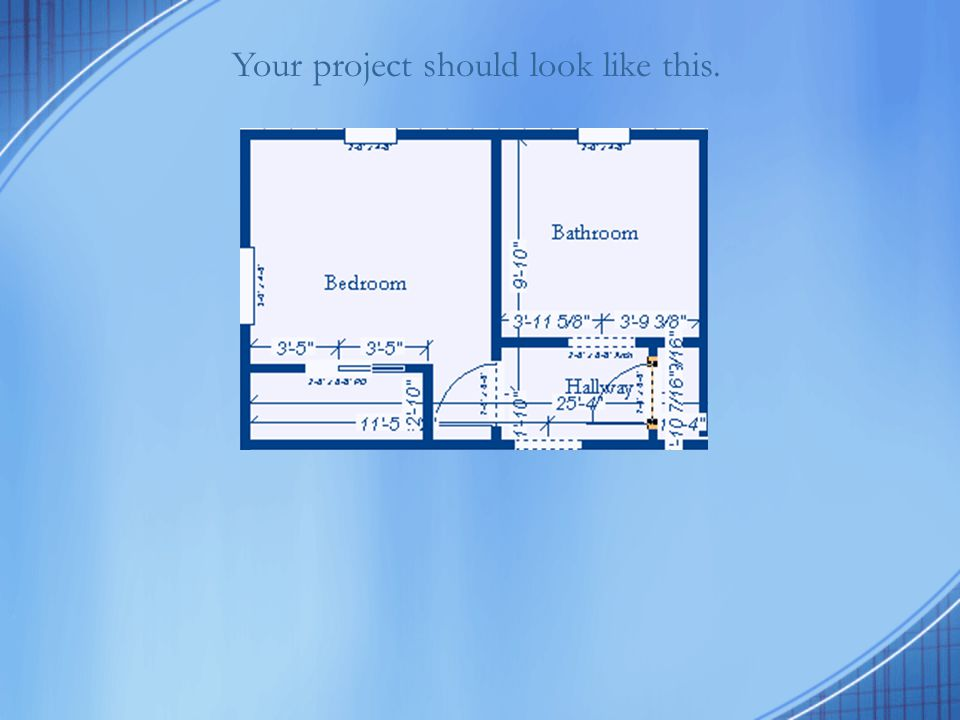 Your project should look like this.