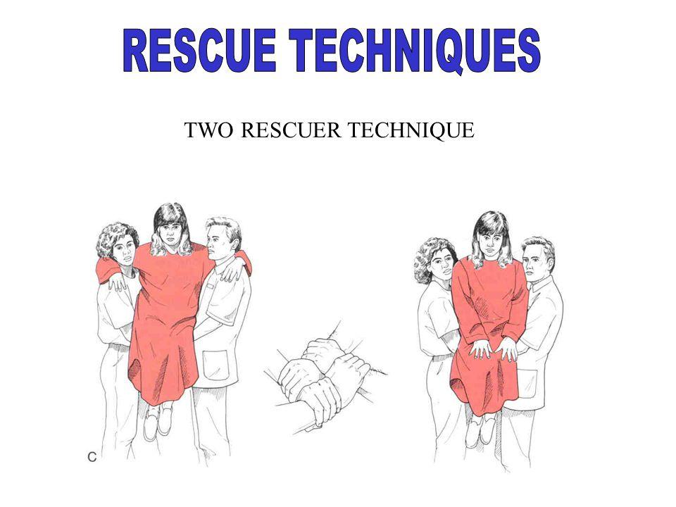 TWO RESCUER TECHNIQUE
