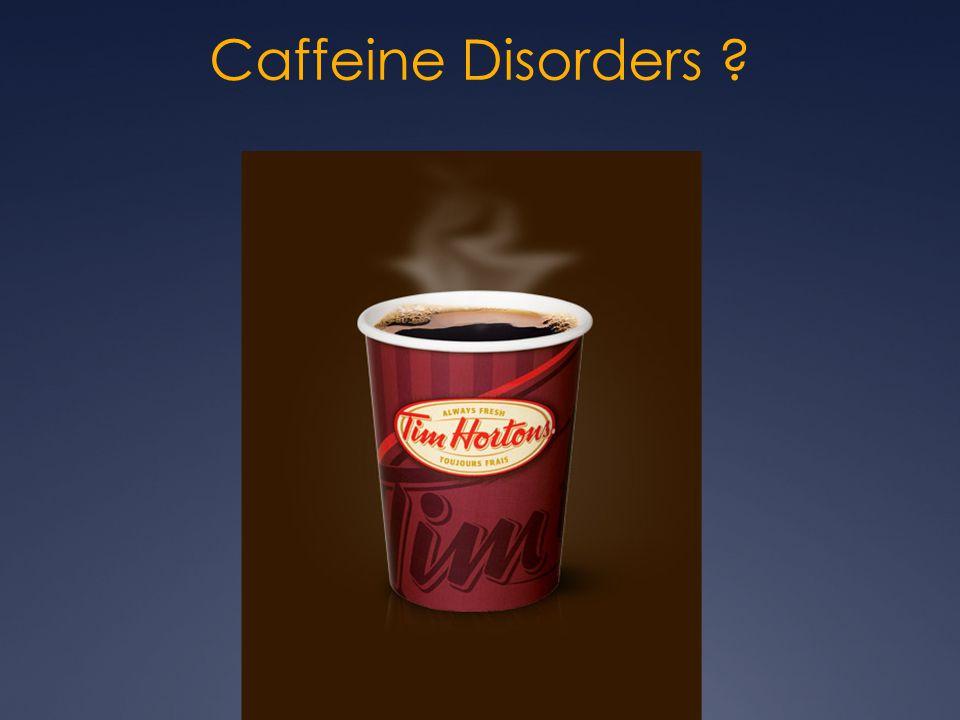 Caffeine Disorders
