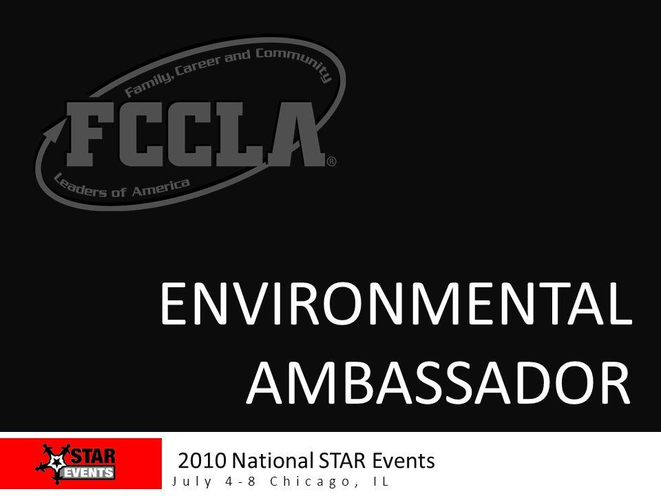 www.fcclainc.org Environmental Ambassador! Community Support Letter