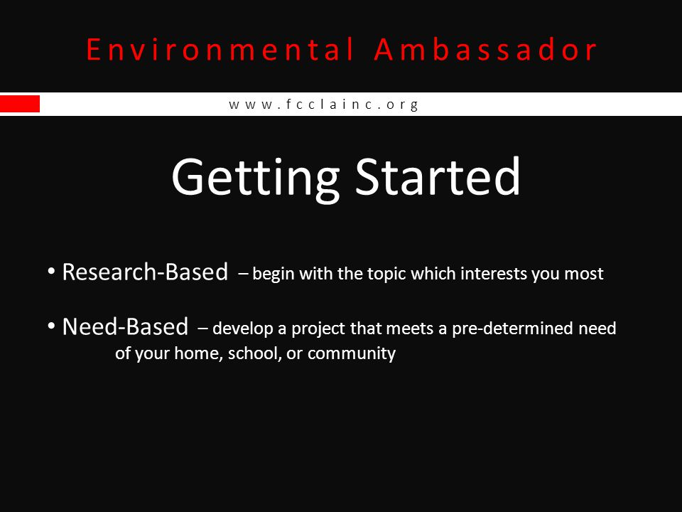 Environmental Ambassador www.fcclainc.org School Recycling Receptacle Fundraiser: Buy Green, Go Green, Be Green Messenger rePETe Sling Daypack rePETe Bags to have as samples of available products to order Product Descriptions, Colors, & Prices Order Form