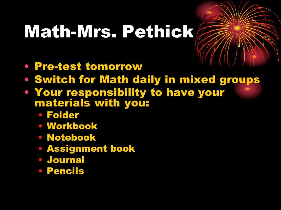 Math-Mrs.