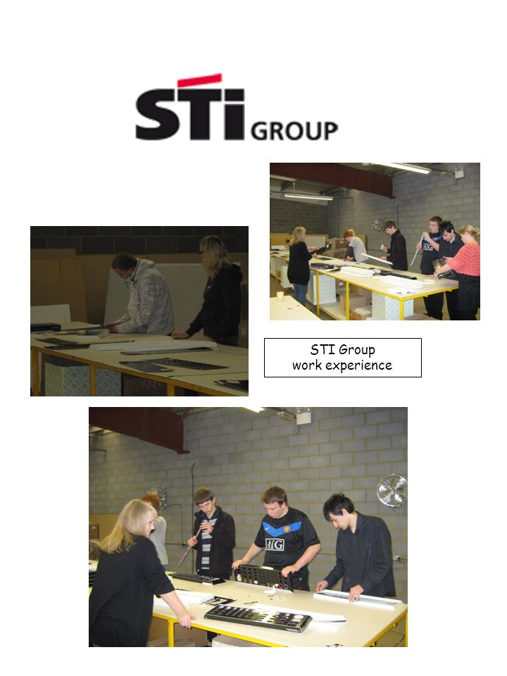 STI Group work experience