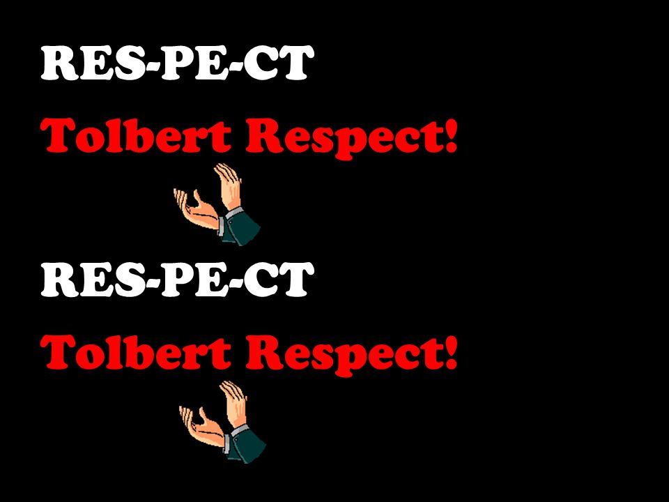Let's Learn the Tolbert Cheer!