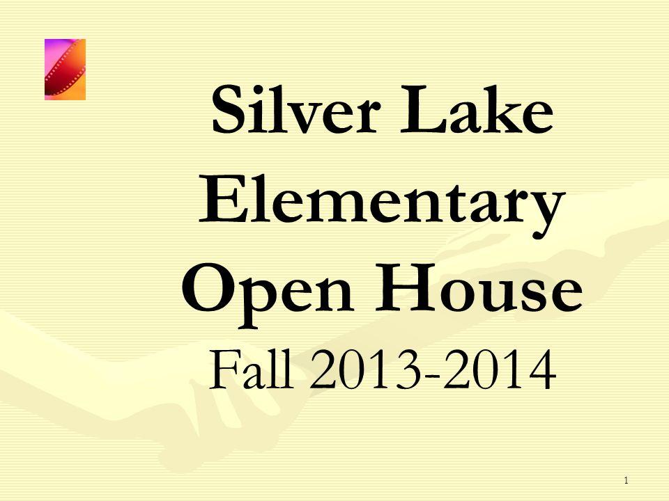 1 Silver Lake Elementary Open House Fall 2013-2014