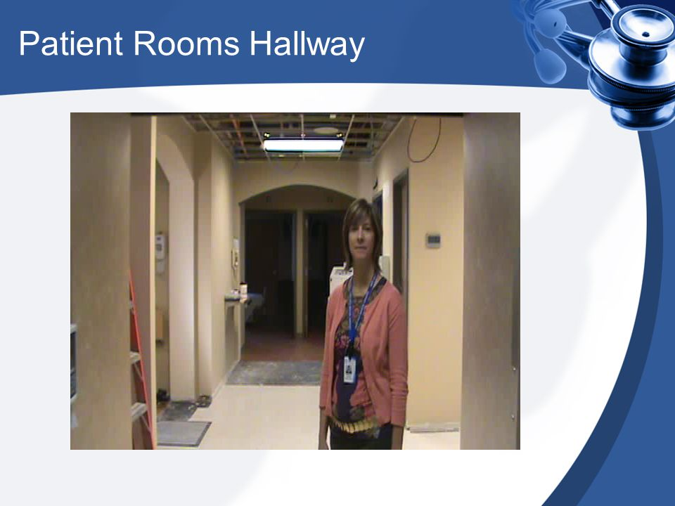 Extended Care Patient Room