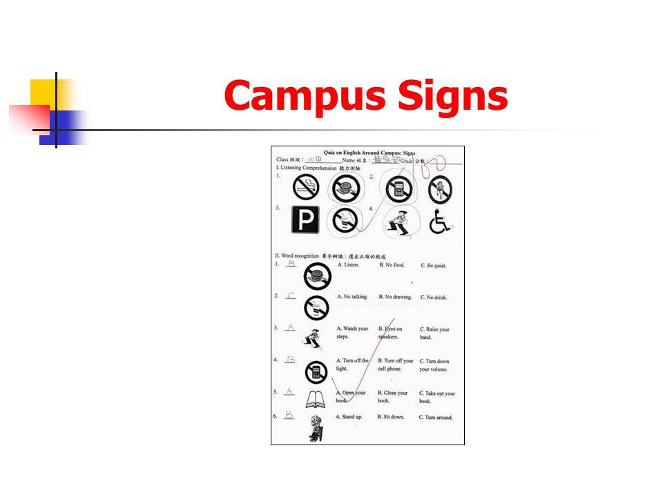 Campus Signs