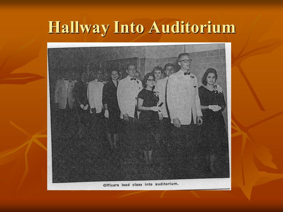 Hallway Into Auditorium