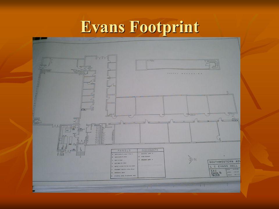 Evans Footprint
