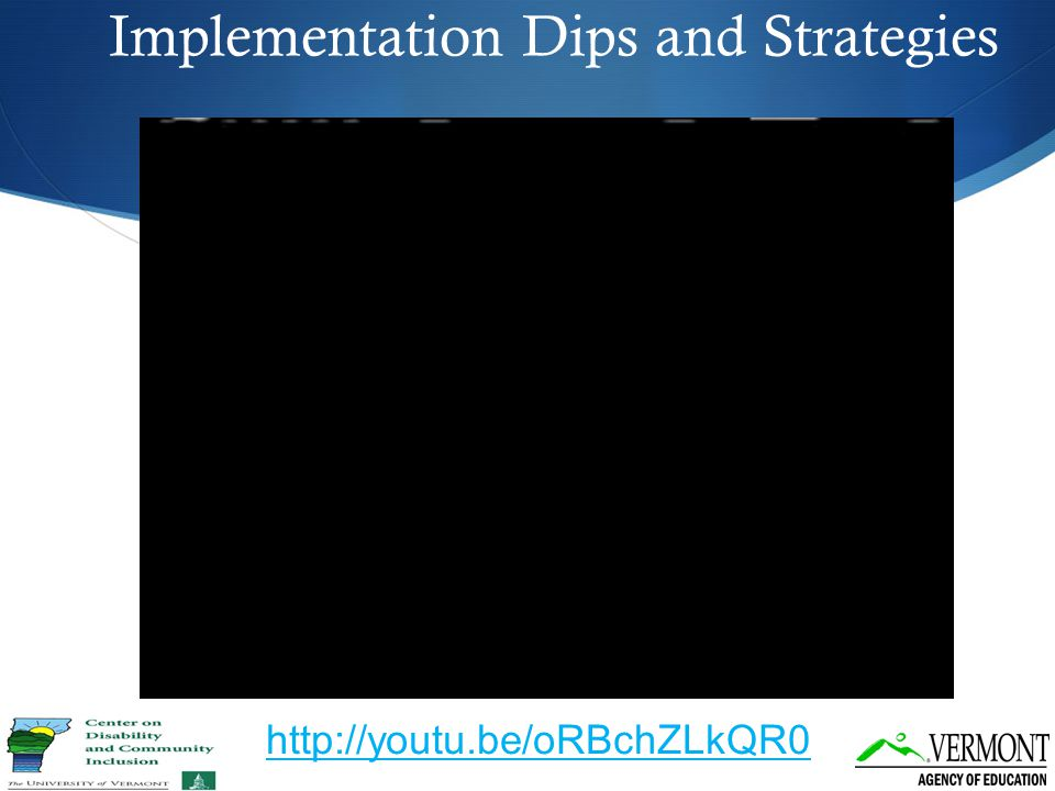 Implementation Dips and Strategies http://youtu.be/oRBchZLkQR0