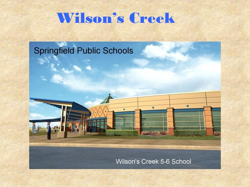 Wilson's Creek Website http://sps.k12.mo.us/Wilsonscreek/index.htm
