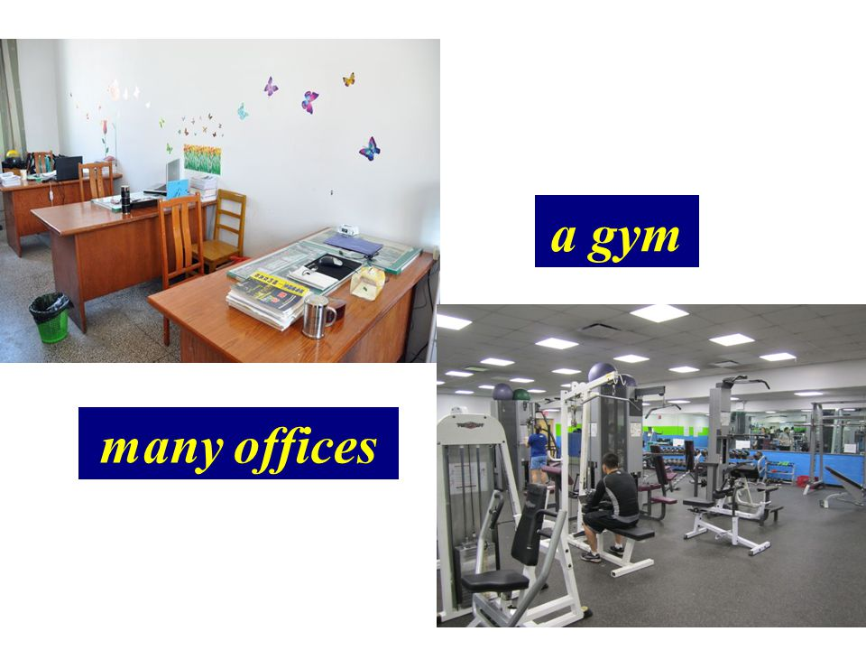 many offices a gym