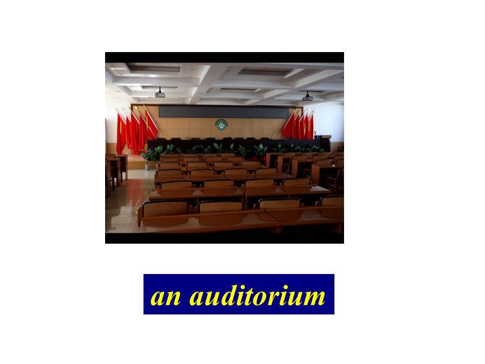 an auditorium