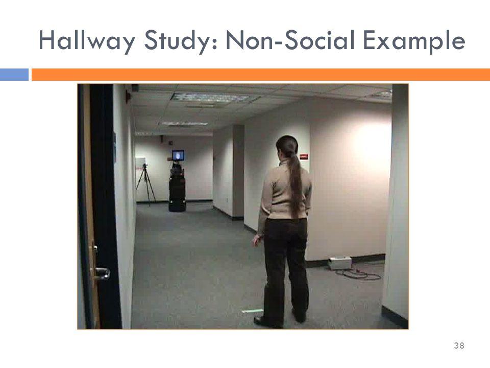 Hallway Study: Non-Social Example 38