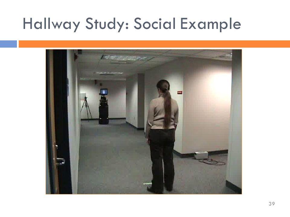 Hallway Study: Social Example 39