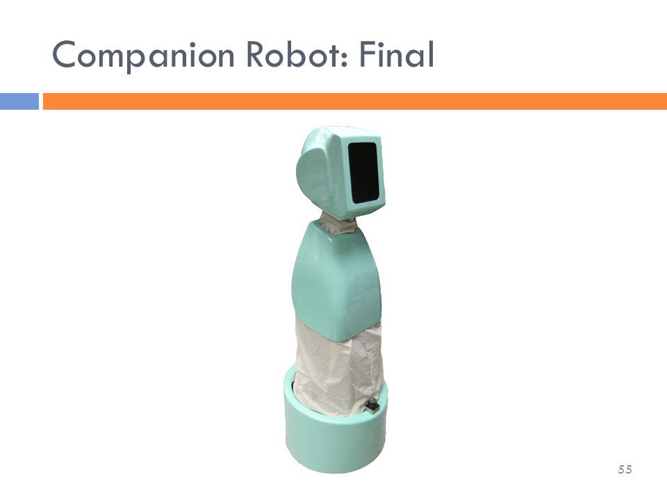 Companion Robot: Final 55