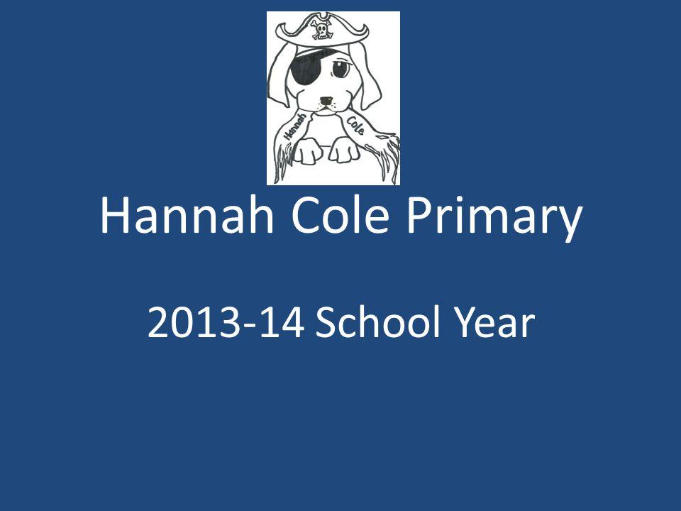 Hannah Cole Primary 2013-14 School Year