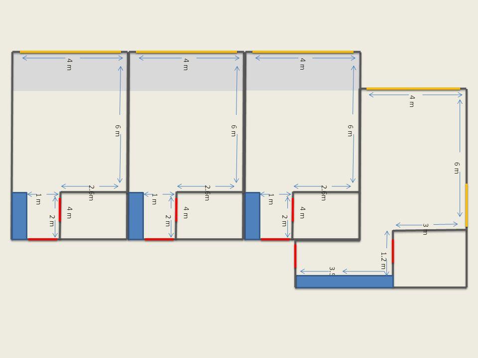 6 m 4 m 2 m 1 m 4 m 2.6m 6 m 1.2 m 3.5 m 4 m 3 m 6 m 4 m 2 m 1 m 4 m 2.6m 6 m 4 m 2 m 1 m 4 m 2.6m
