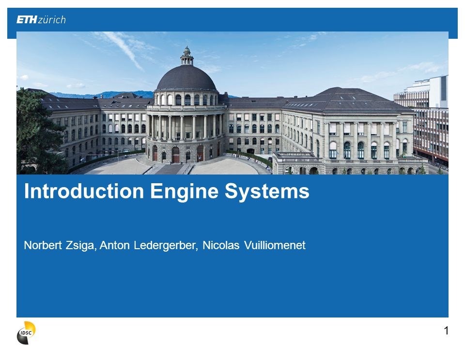 1.Concept of a combustion engine 2.Different types of engines 3.Topics of the lecture «Engine Systems» 4.Tour through engine hallway ML E 2 Introduction Engine Systems
