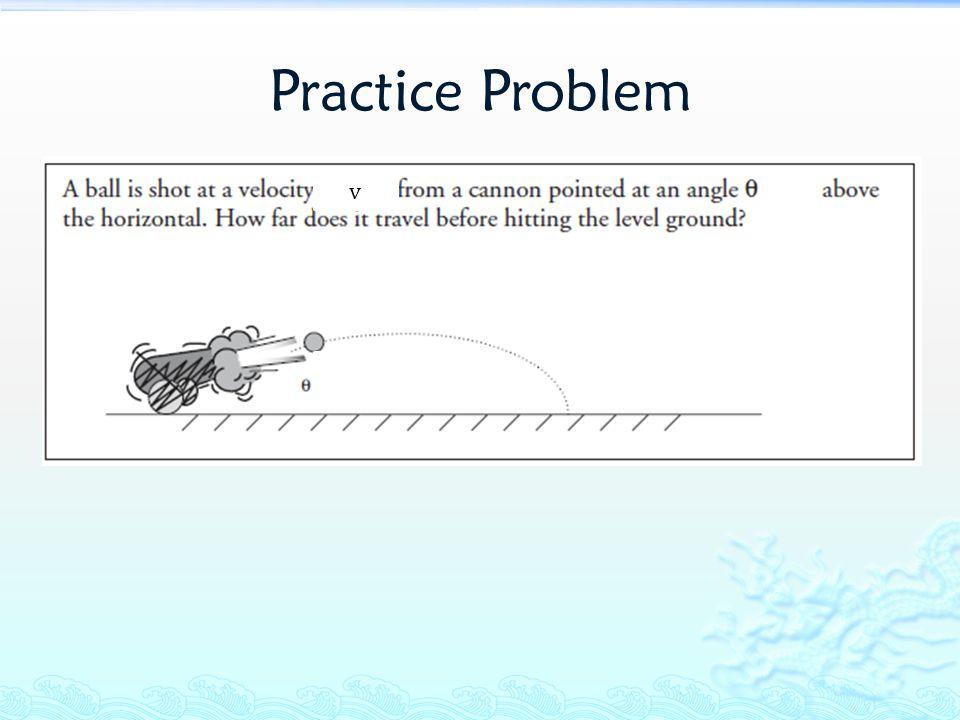 Practice Problem v