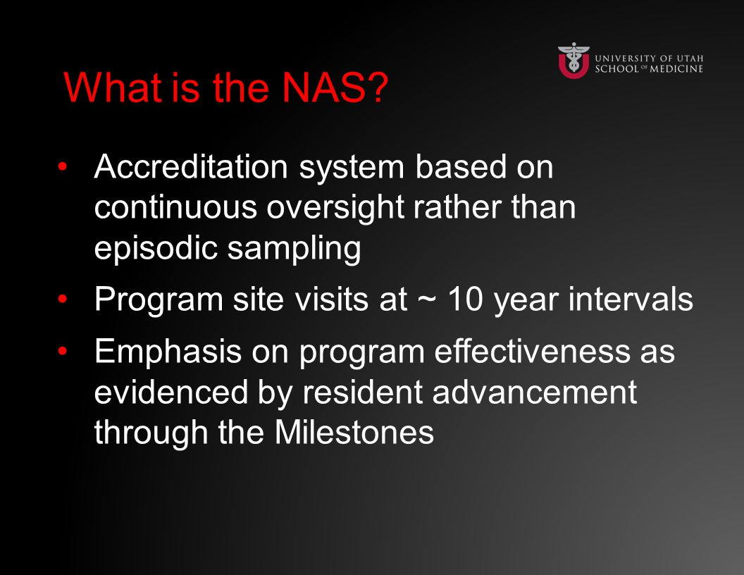 What is the NAS What is the NAS.