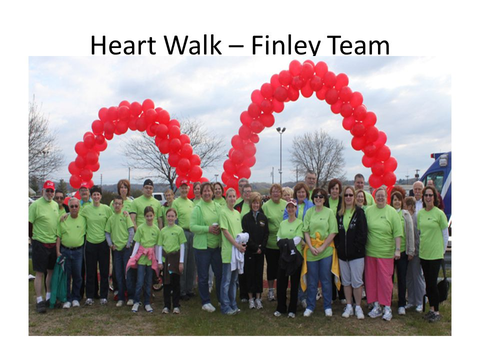 Heart Walk – Finley Team