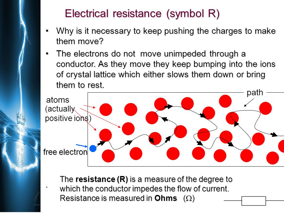 OHM'S LAW - Current, Voltage and Resistance DEF: Current through resistor (conductor) is proportional to potential difference on the resistor if the temperature of a resistor is constant (the resistance of a conductor is constant).