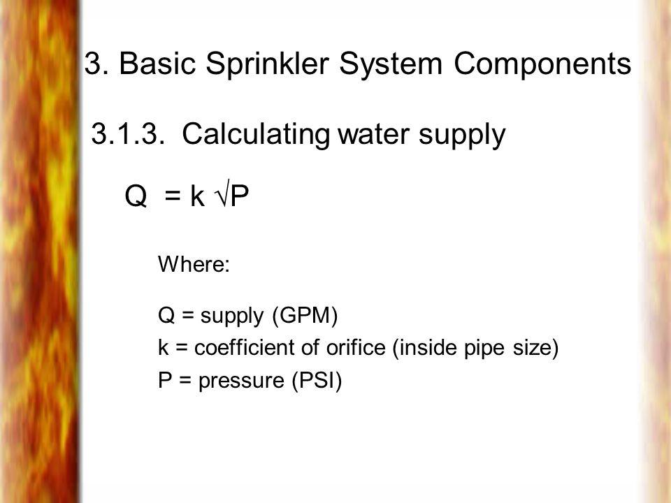 3.Basic Sprinkler System Components 3.1.3.