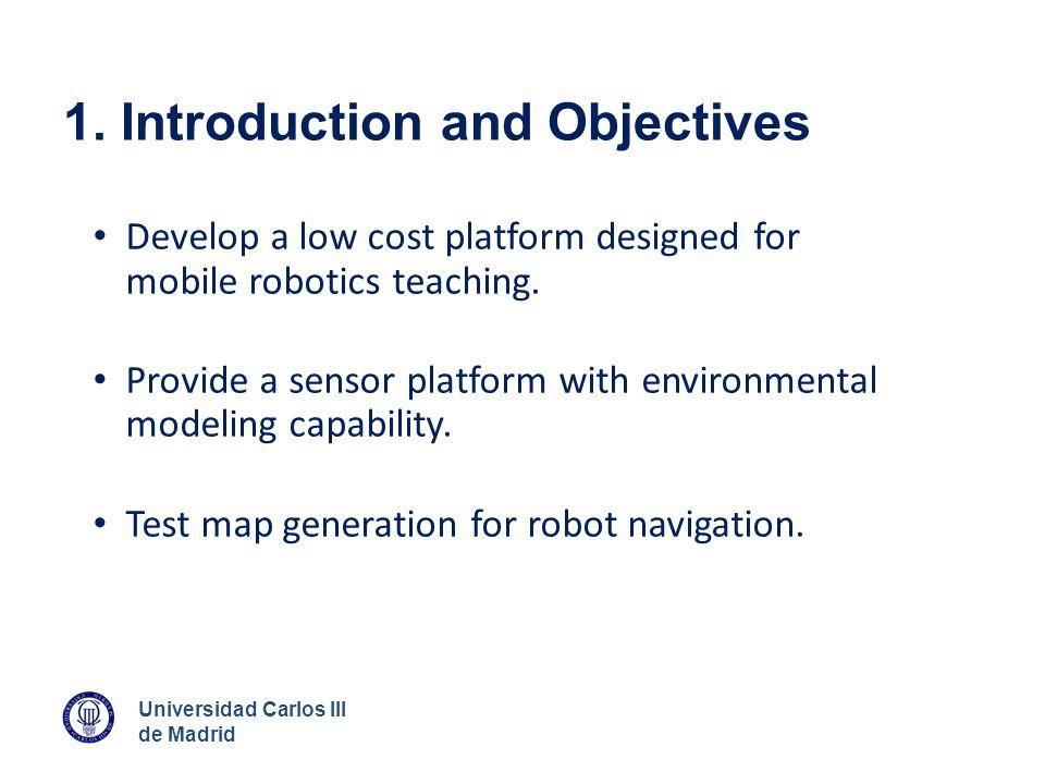 Universidad Carlos III de Madrid 4. Control Architecture Arduino: ROS HMC5883L Encoder Move