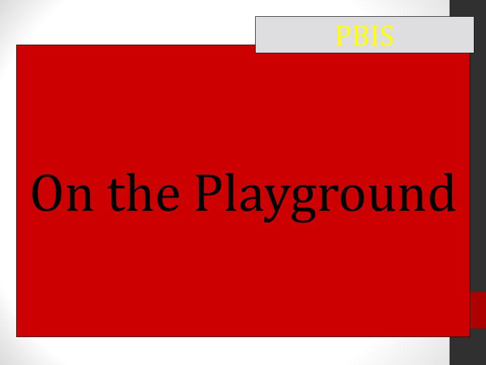 On the Playground PBIS