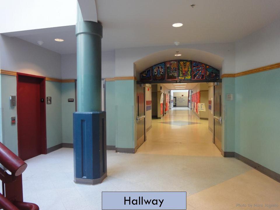 Hallway Photo by Nora Jagielo