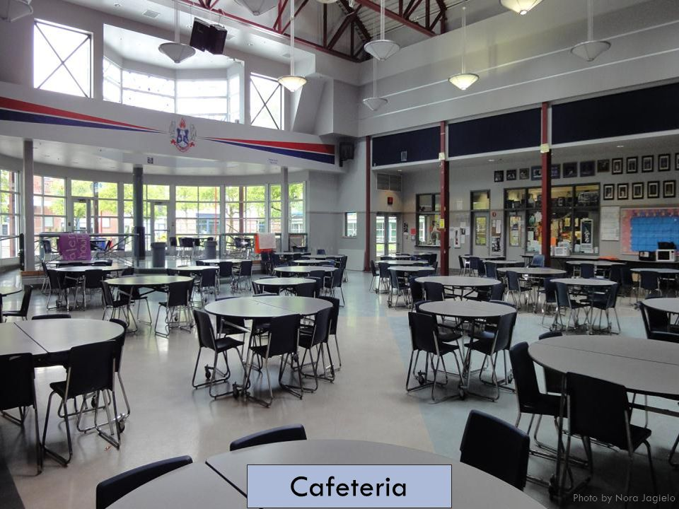 Cafeteria Photo by Nora Jagielo