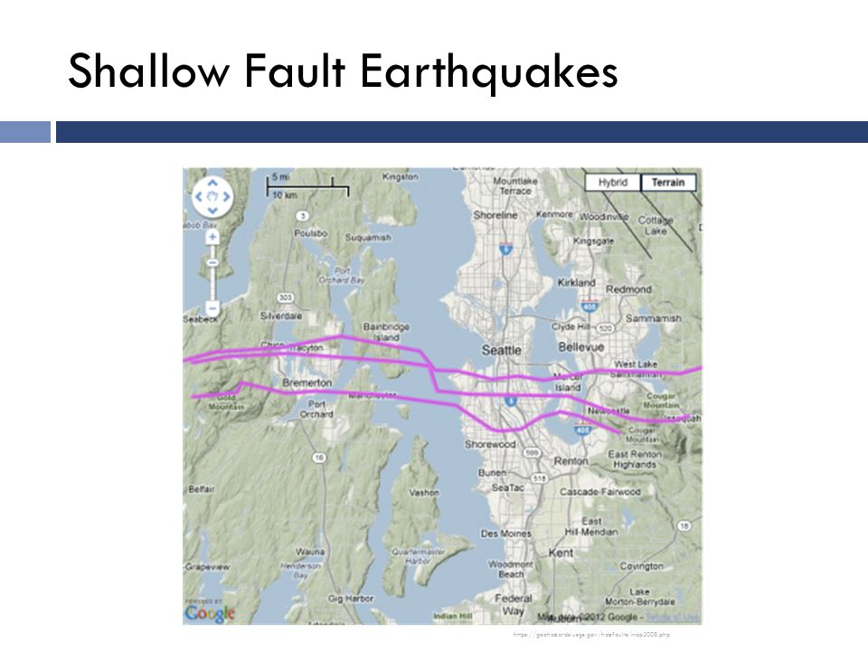 Shallow Fault Earthquakes https://geohazards.usgs.gov/hazfaults/map2008.php