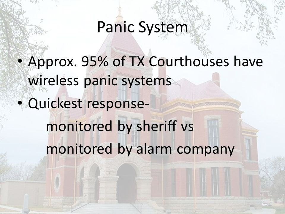 Panic System Approx.