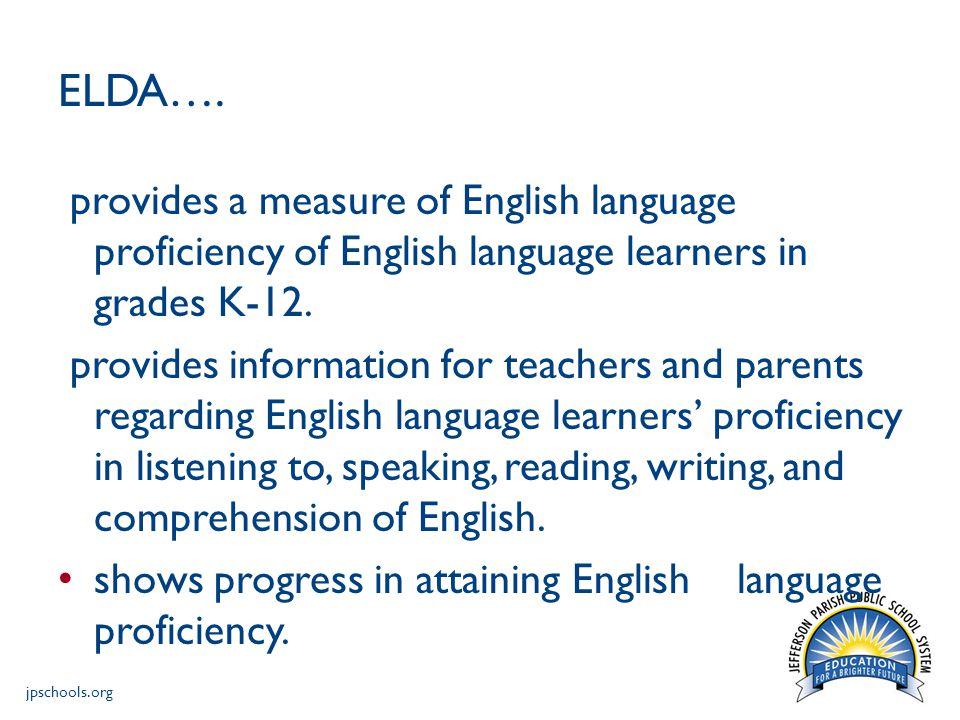 jpschools.org ELDA….