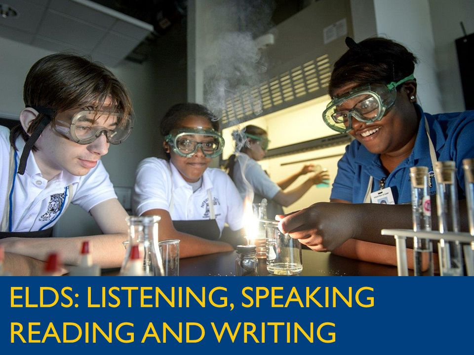 jpschools.org ELDS: LISTENING, SPEAKING READING AND WRITING