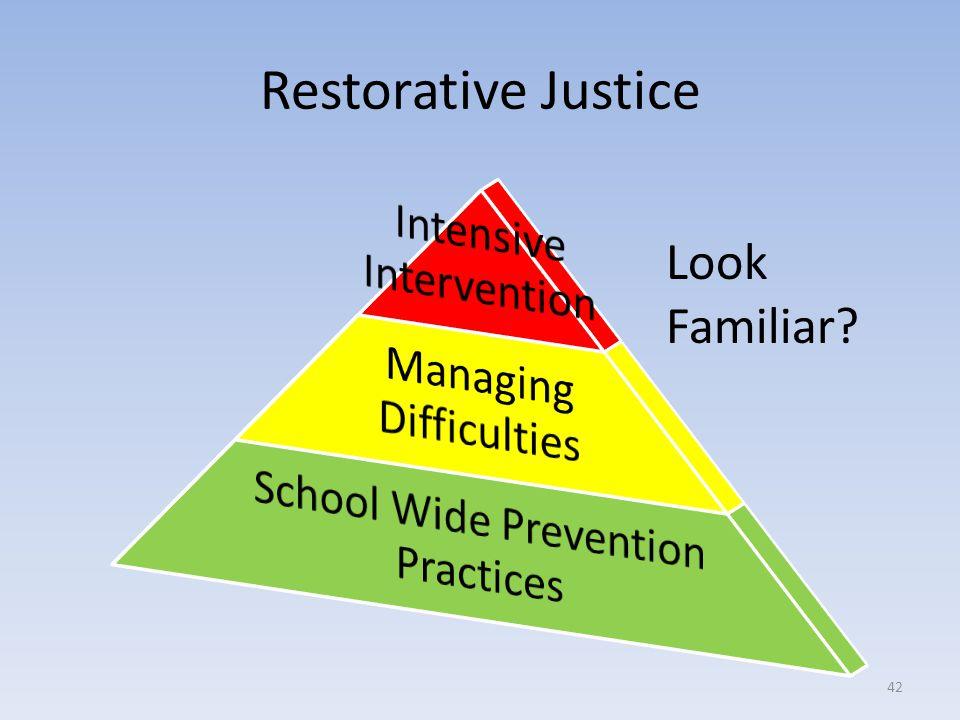 Restorative Justice Look Familiar? 42