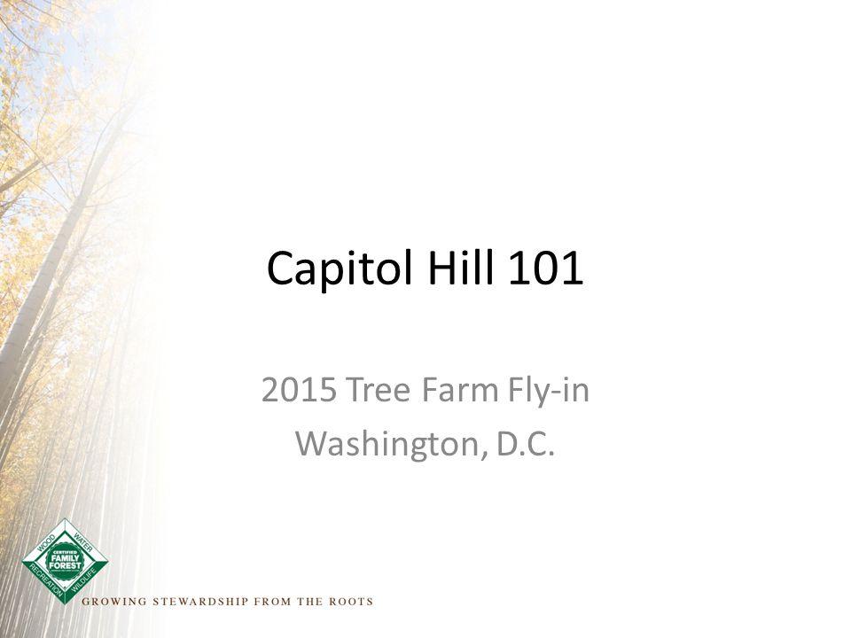 Capitol Hill 101 2015 Tree Farm Fly-in Washington, D.C.