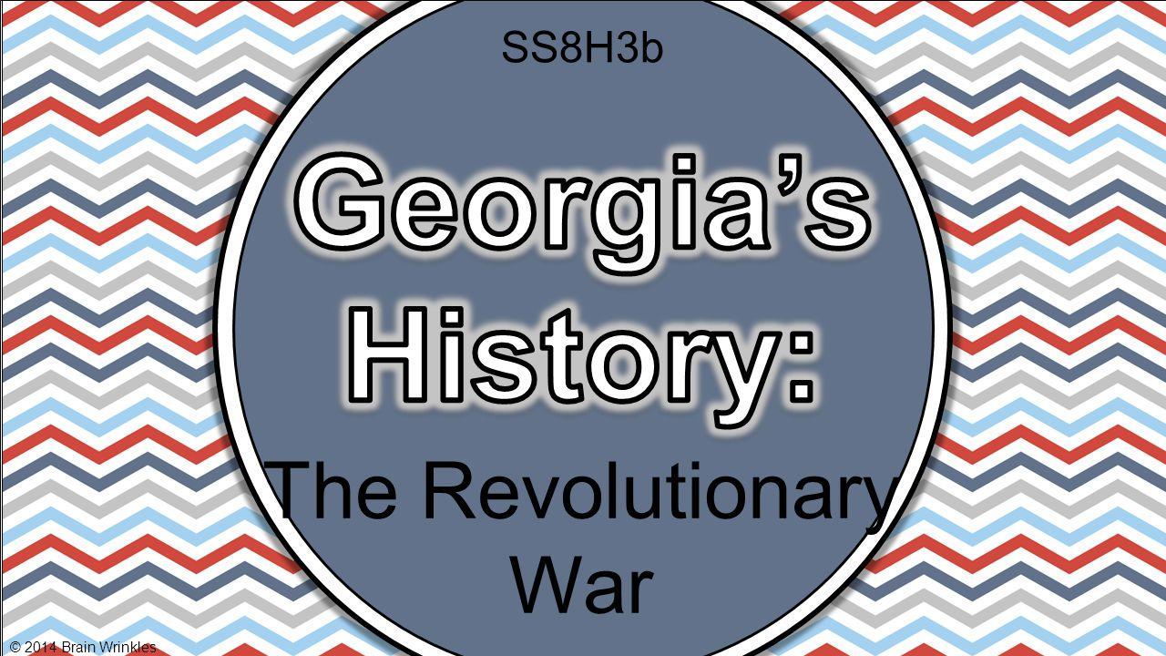 The Revolutionary War © 2014 Brain Wrinkles SS8H3b